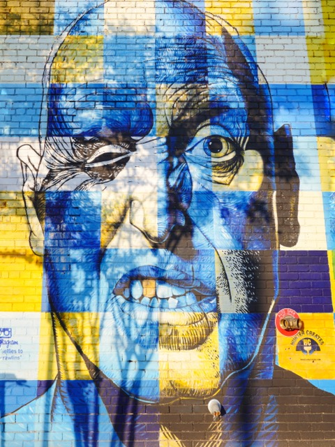 Deep Ellum Murals in Dallas Texas