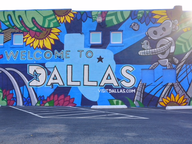 Healthcare Art Consulting Deep Ellum Street Art Welcome to Dallas