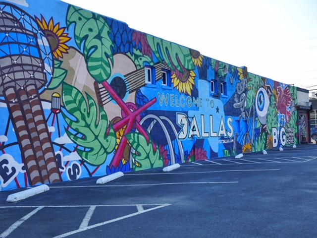 Healthcare Art Consulting Deep Ellum Street Art Dallas TX