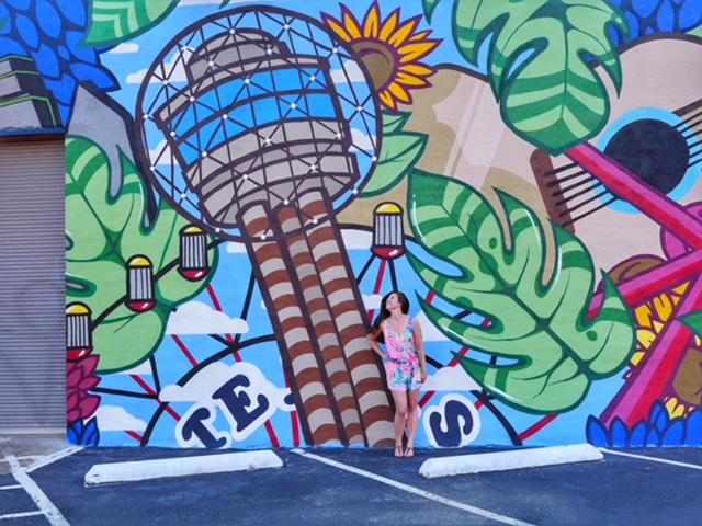 Healthcare Art Consulting Deep Ellum Street Art Dallas TX - Reunion Tower