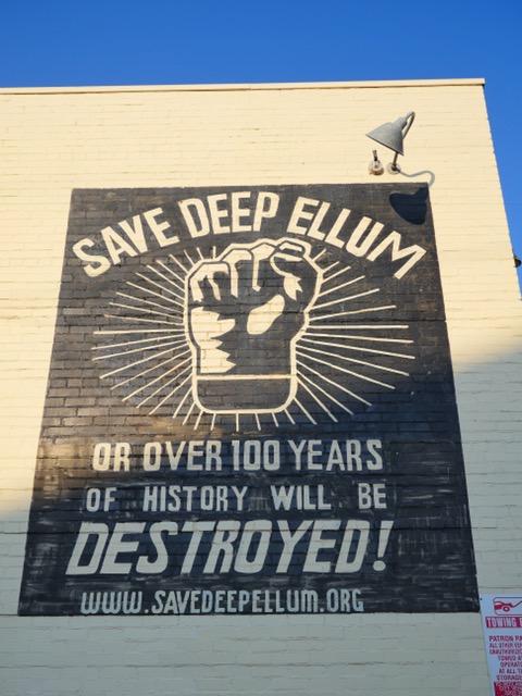 Save Deep Ellum Street Art Dallas TX