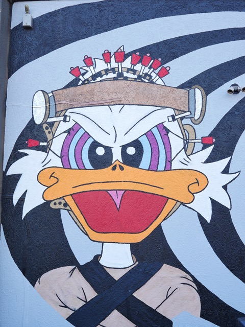 Deep Ellum Street Art Dallas TX Donald DUck