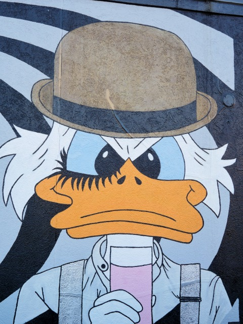 Deep Ellum Street Art Dallas TX Duck Tales