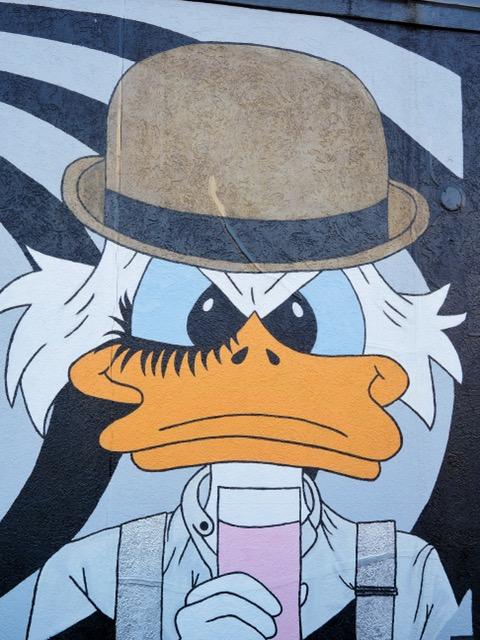 Deep Ellum Street Art Dallas TX Duck Tales