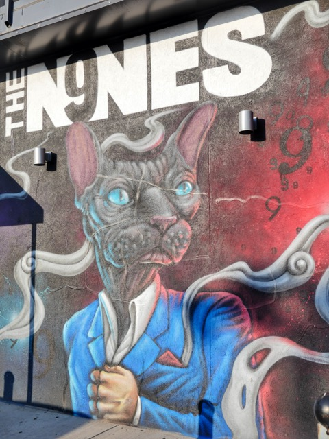 The Nines Deep Ellum Street Art Dallas TX