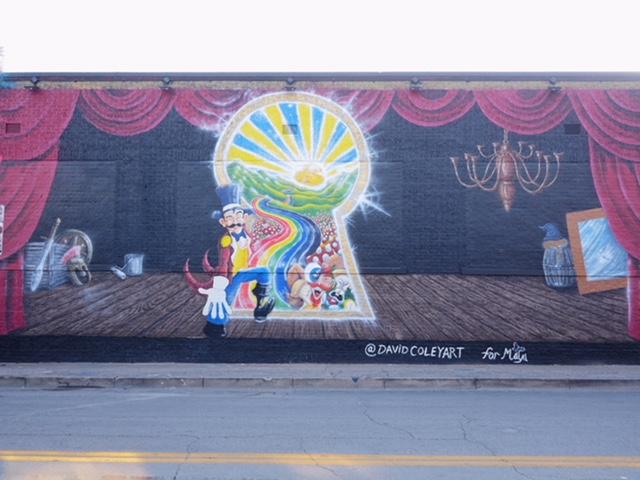 The Quixotic World Deep Ellum Street Art Dallas TX