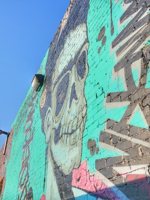 Deep Ellum Street Art Dallas TX Frida