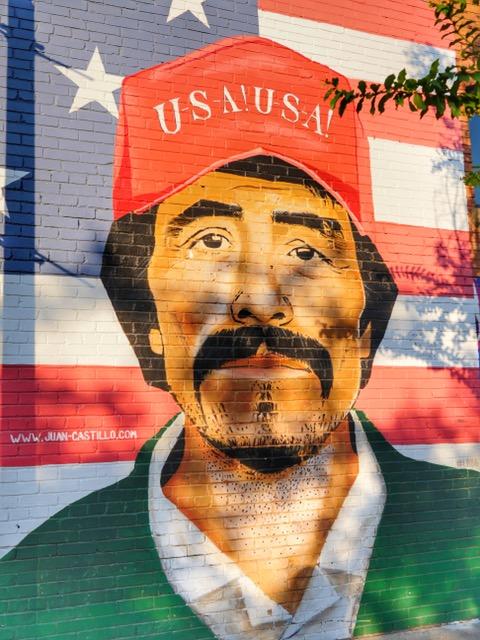 Deep Ellum Street Art Dallas TX USA Juan