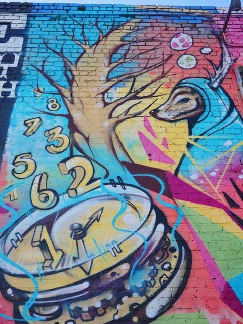 Parking Lot 50 Deep Ellum Street Art Dallas TX