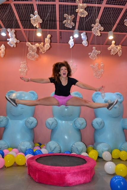 Dessert Museum Manila giant gummies trampoline