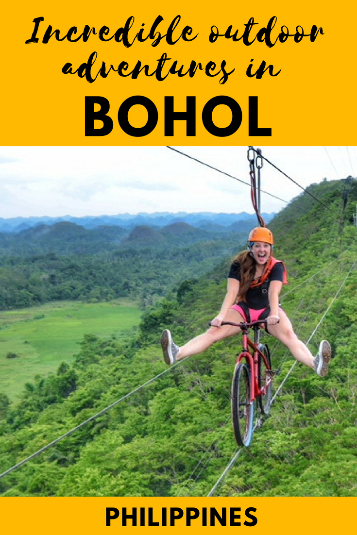 Incredible outdoor adventures in Bohol, the Philippines