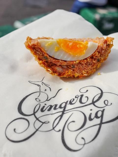 Secret London Food Tours Ginger Pig scotch egg