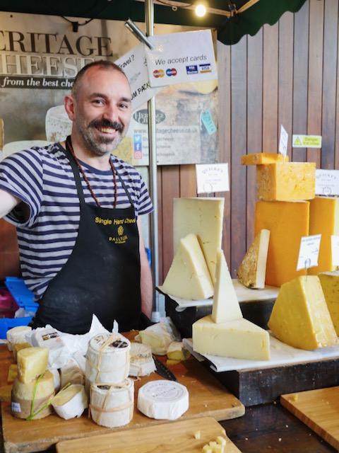 Secret London Food Tours Heritage Cheese Borough Market