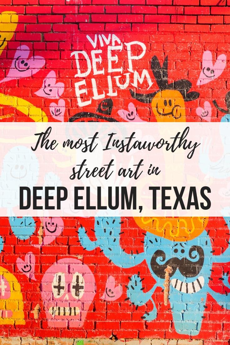 The best street art in Deep Ellum, Texas