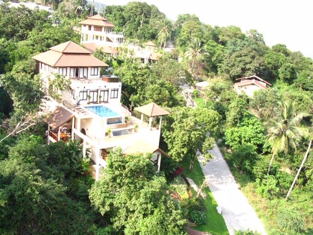 Three levels of Tranquil Villa