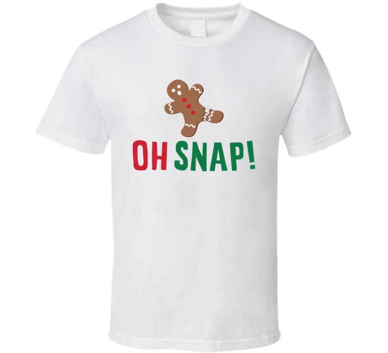 Oh Snap! gingerbread shirt