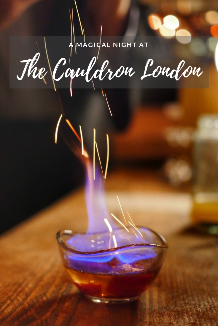 A magical night at The Cauldron London Cocktail Experience