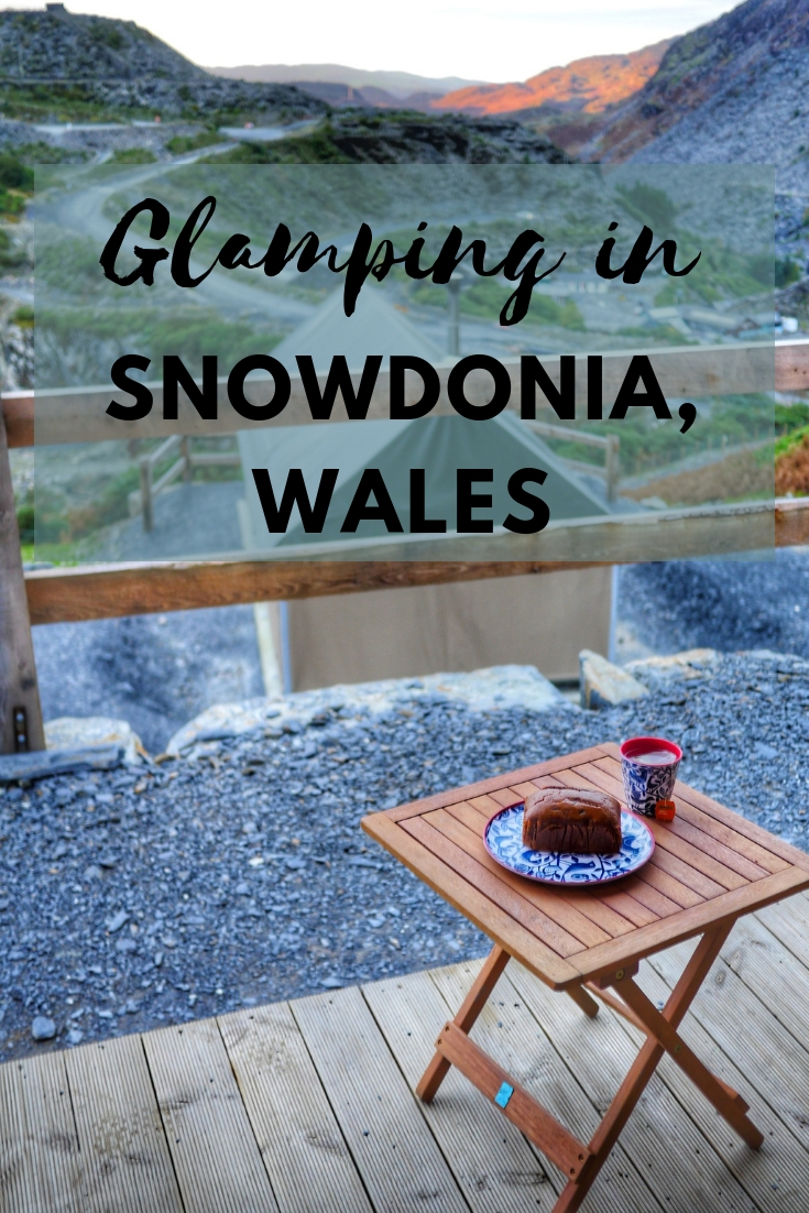 Glamping in Snowdonia, Wales