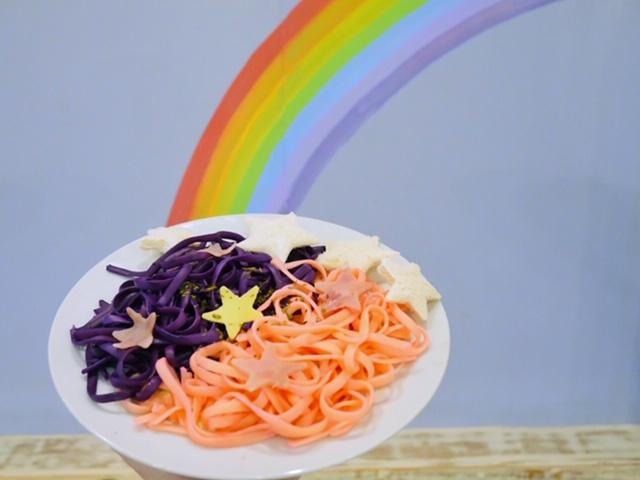 Pasta Carbonara Rainbow Dreams Cafe Quezon City Manila
