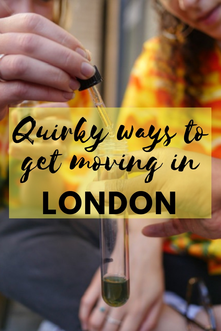 Quirky ways to get fit in London