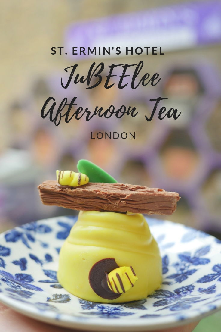 St. Ermin's Hotel JuBEElee Afternoon Tea London