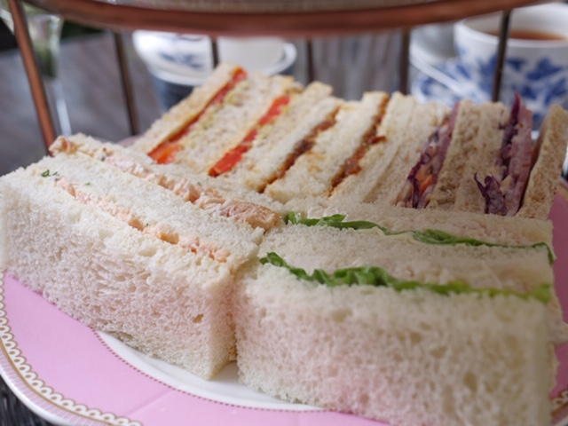 St. Ermin's Hotel JuBEElee Afternoon Tea - finger sandwiches