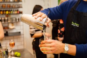 Shaking up some fun at The Avenue Cookery School London
