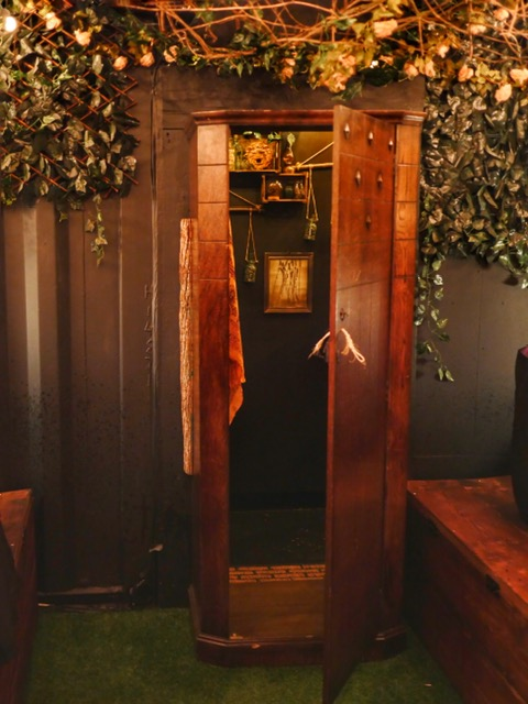 The Cauldron London Narnia closet