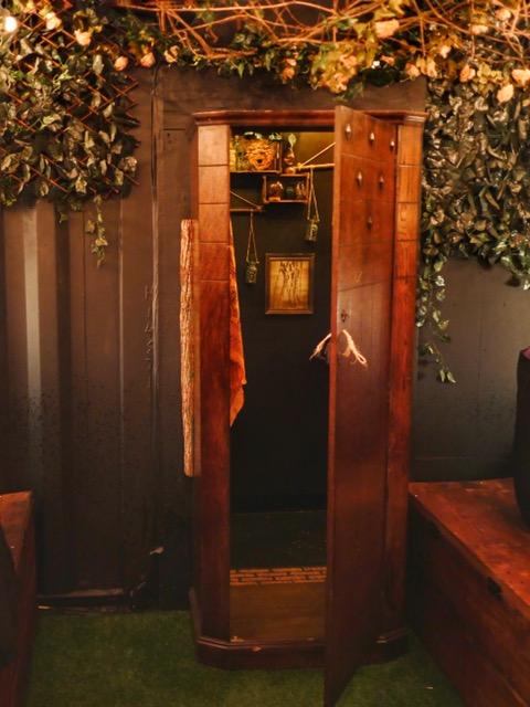 The Cauldron London Narnia closet