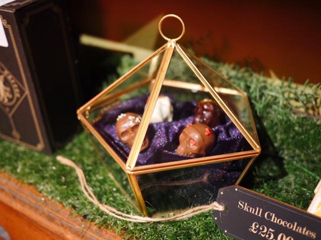 The Cauldron London chocolate skulls