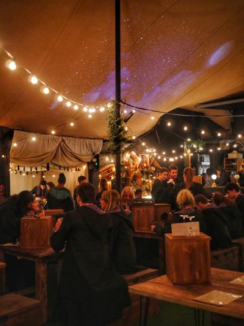 The Cauldron London tent