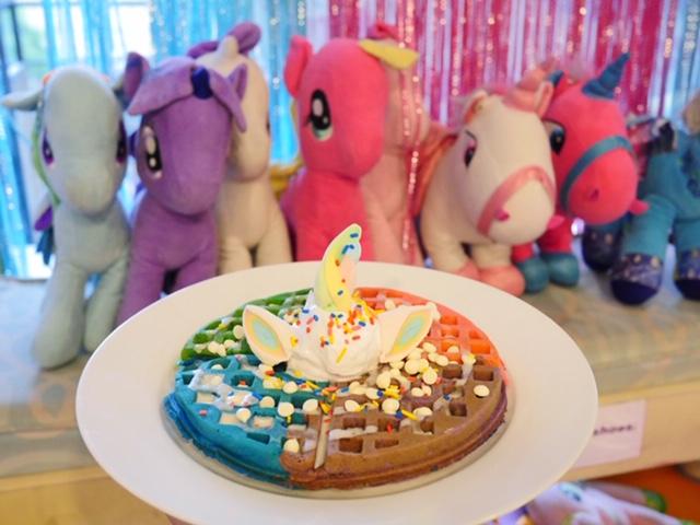 Unicorn Cafe Waffles Rainbow Dreams Cafe Quezon City Manila