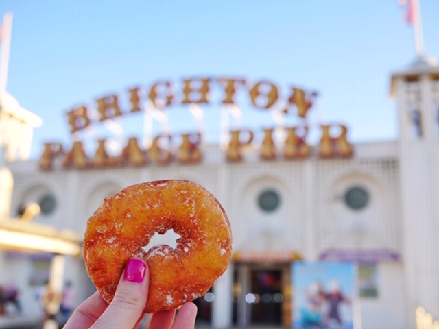 Desserts Brighton England Donuts and Churros on Brighton Palace Pier