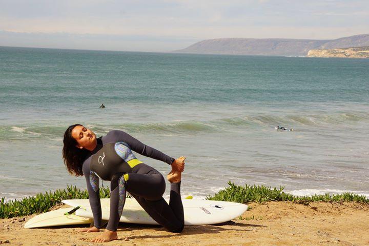 Sophie - yoga Azrac Surf