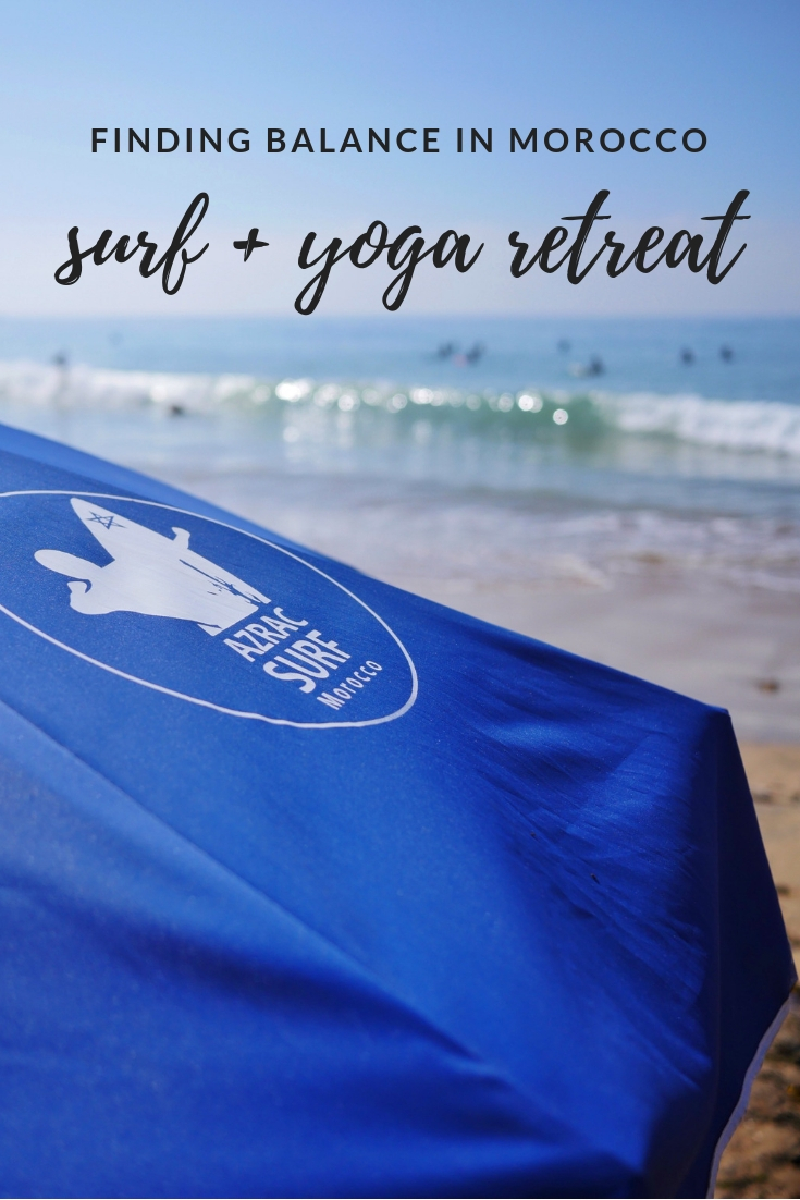 Surf and yoga retreat near Agadir and Taghazout Morocco