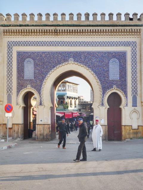 Fez tour - Blue Gate
