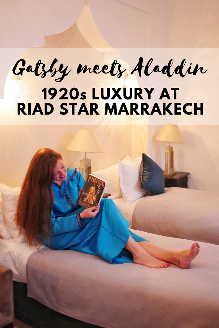 Gatsby meets Aladdin - 1920s luxury at Josephine Baker's former home, Riad Star in Marrakech, Morocco