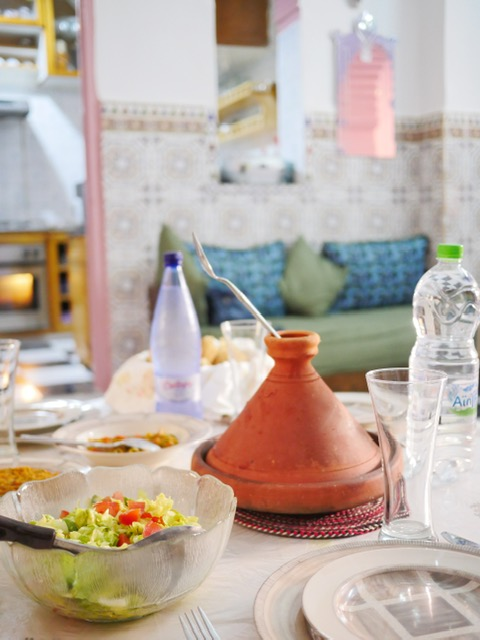 Home-cooked Moroccan dishes on Rabat Food Tour with Moroccan Food Tour