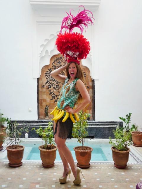 Marrakech Riad - Riad Star - banana skirt costume