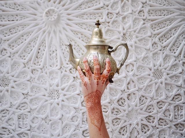 Marrakech Riad - Riad Star - mint tea