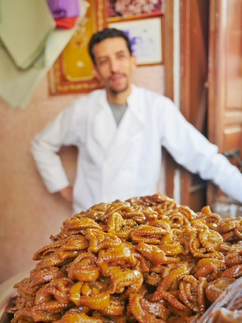 Moroccan Food Tour in Rabat - chebakia dessert