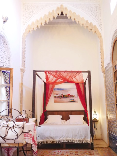 Riad Marhaba Rabat Bed