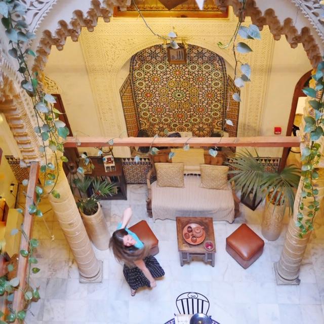 Riad Marhaba Rabat - dining area