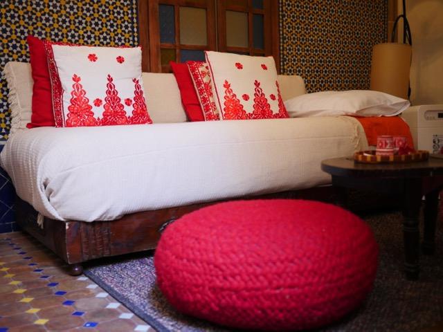Riad Marhaba Rabat sofa bed