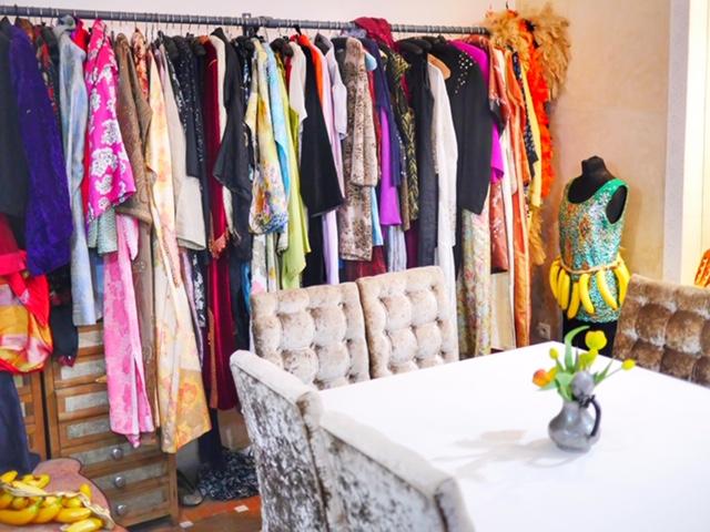 Riad Star Marrakech dress up closet