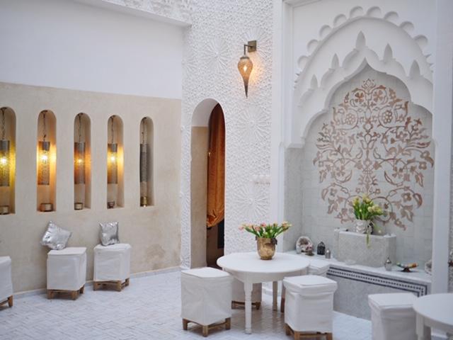 Riad Star dining area