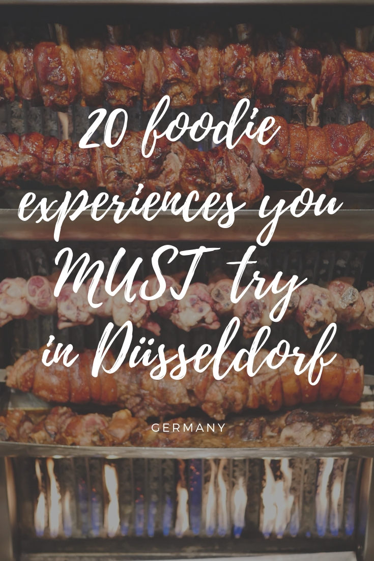 20 foodie experiences you can't miss in Düsseldorf, Germany