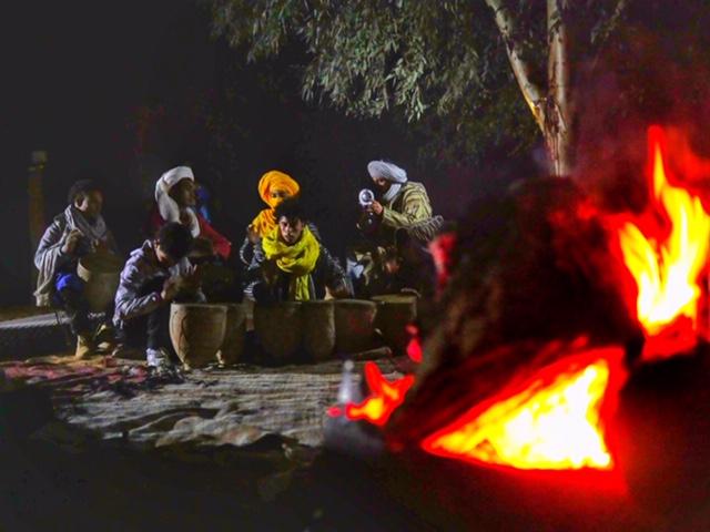 Berber music at the Sahara Desert Camp