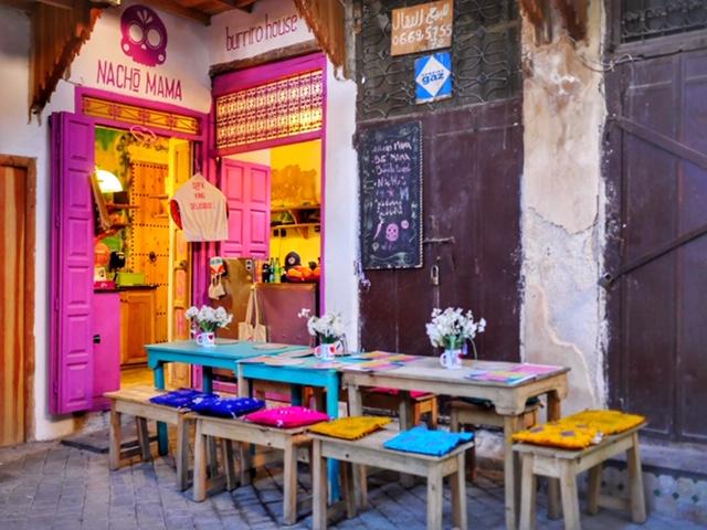 Nacho Mama Burrito House in Fes
