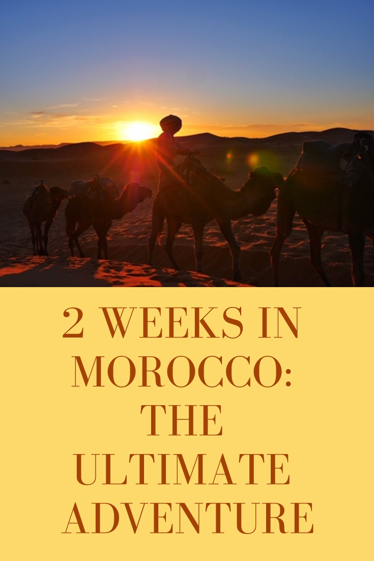 The ultimate adventure in Morocco - A 2 week itinerary for surfing, souks and the Sahara